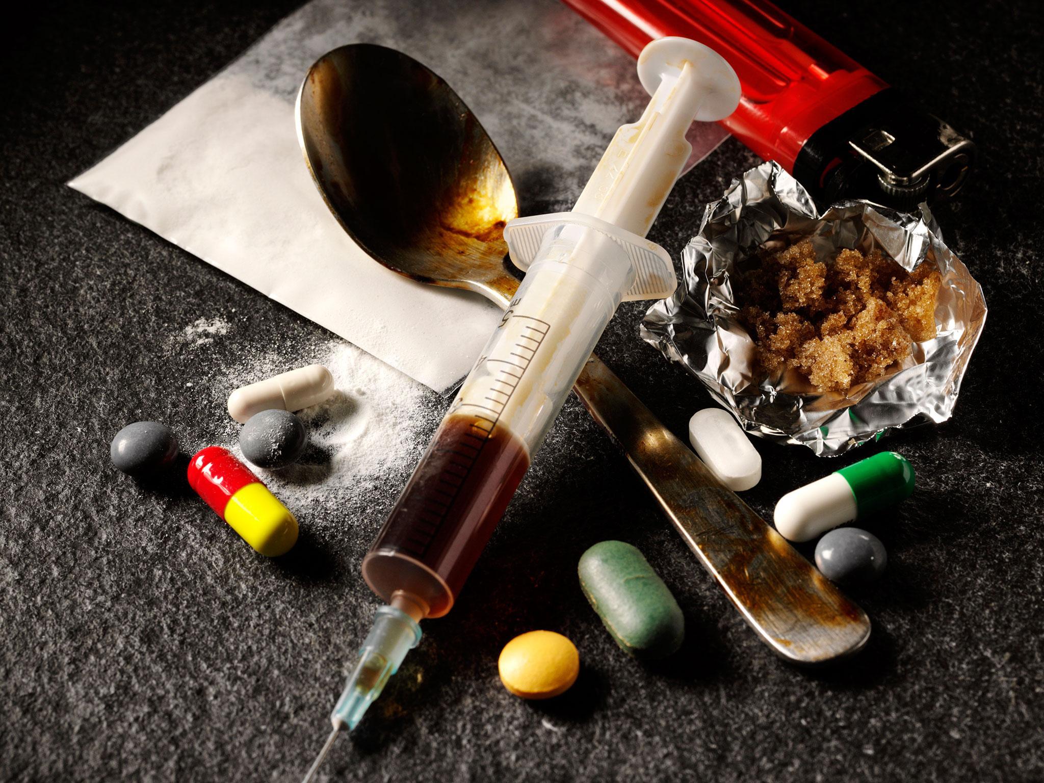предметы наркомана