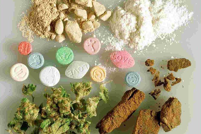 виды наркотиков